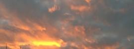 beautiful sunset kodachome